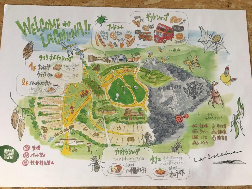 ラコリーナのマップ画像