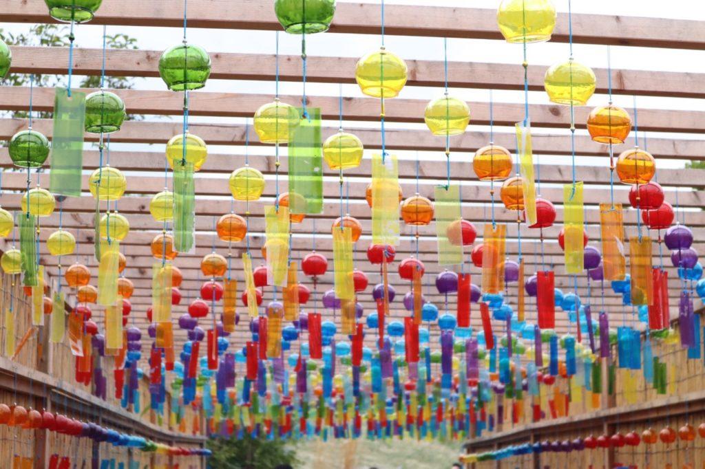 びわこ箱館山の風鈴の画像