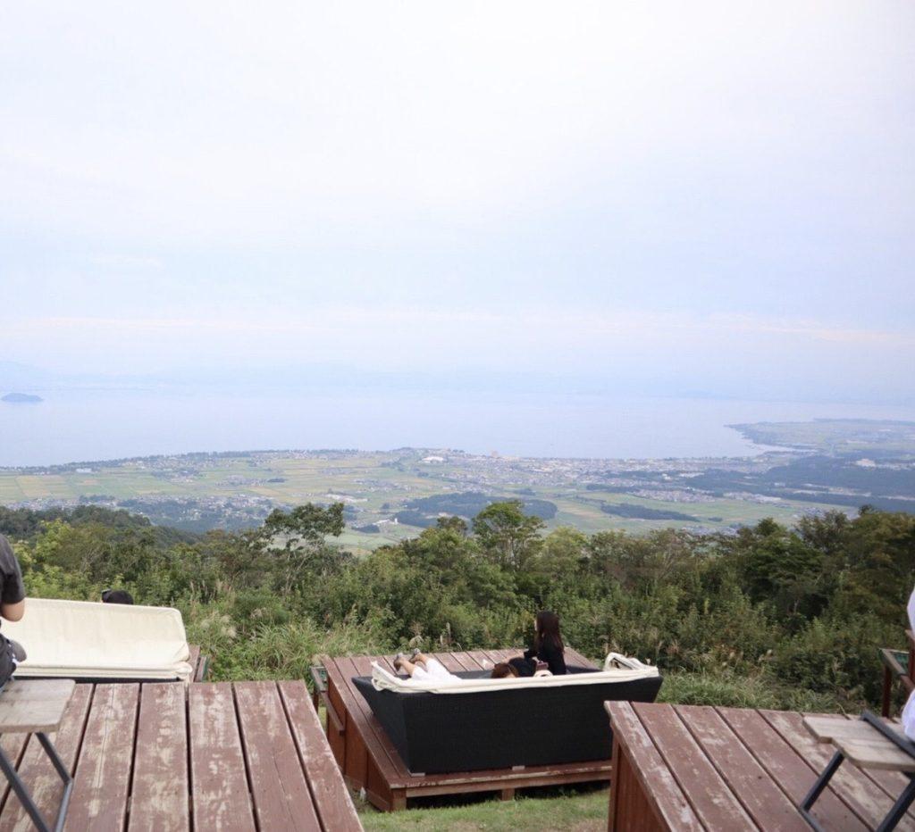 びわこ箱館山の景色の画像