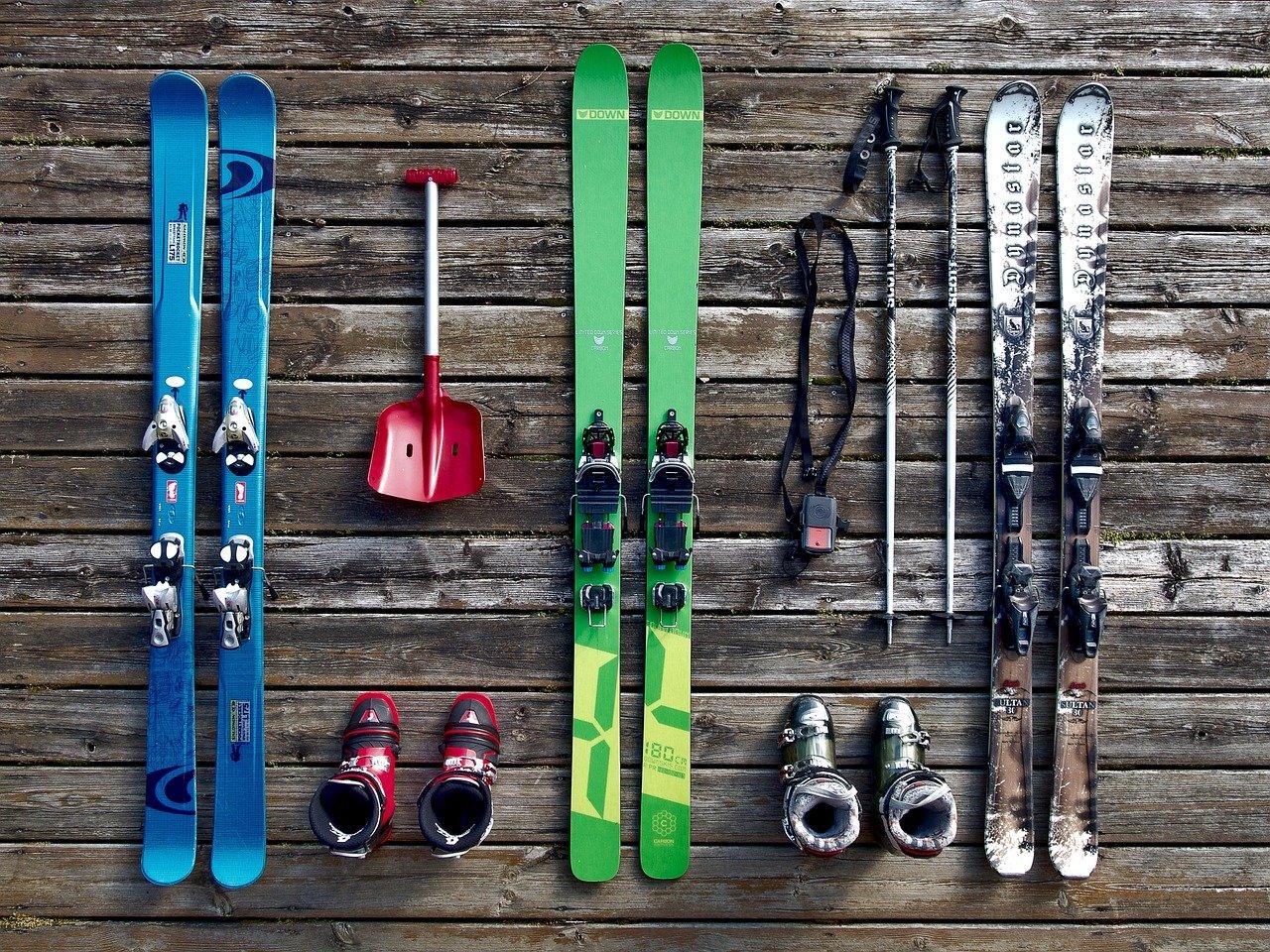 スキーの道具画像